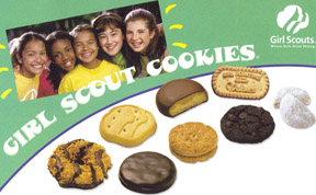 Girl Scout Cookies contain trans fat.