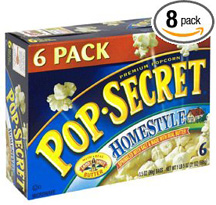 Pop Secret Popcorn contains trans fat.