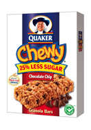 Quaker Chewy Granola Bars contain trans fat.