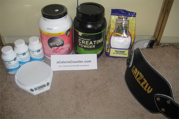 The products and supplements I use and recommend.